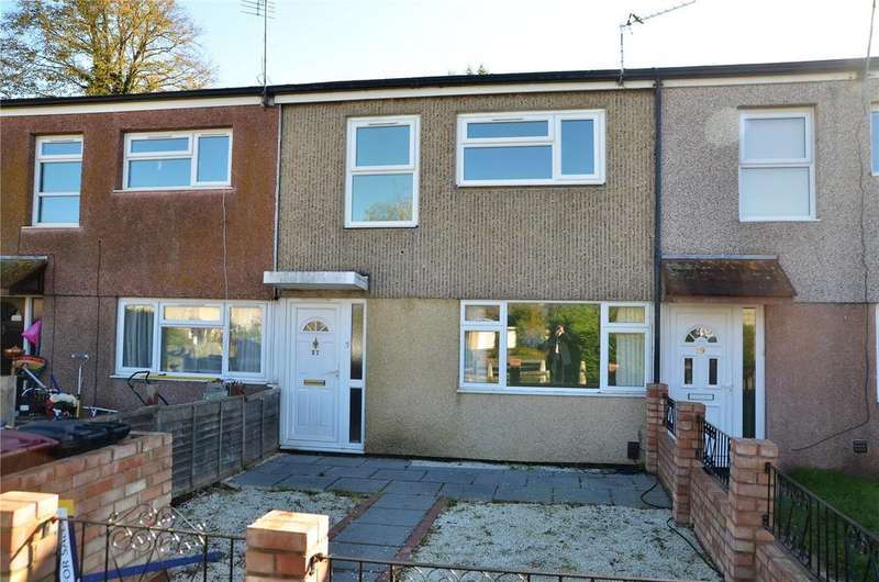 3 Bedrooms Terraced House for sale in Helmsdale Close, Reading, Berkshire, RG30