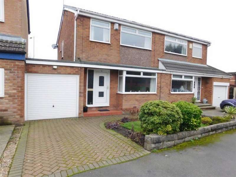 3 Bedrooms Semi Detached House for sale in Brooklands Drive, Littlemoss, Manchester