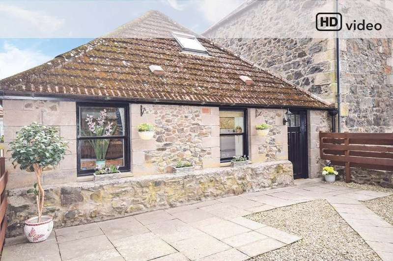 1 Bedroom Terraced House for sale in Millhall Cottages, Craigmill, Newburgh, Fife, KY14 6ER