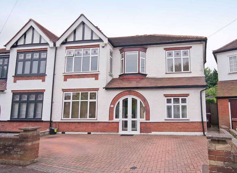5 Bedrooms Semi Detached House for sale in Parkfield Gardens, North Harrow, Middlesex