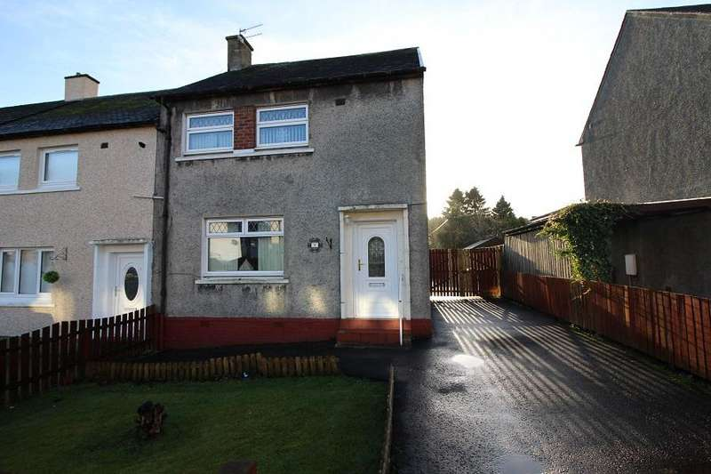 2 Bedrooms End Of Terrace House for sale in Victoria Road, Harthill ML7