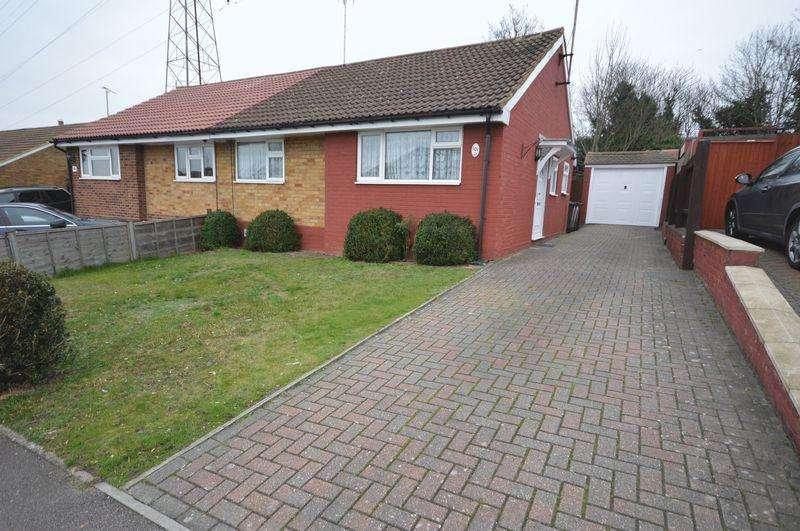 2 Bedrooms Semi Detached Bungalow for sale in Eldon Road.