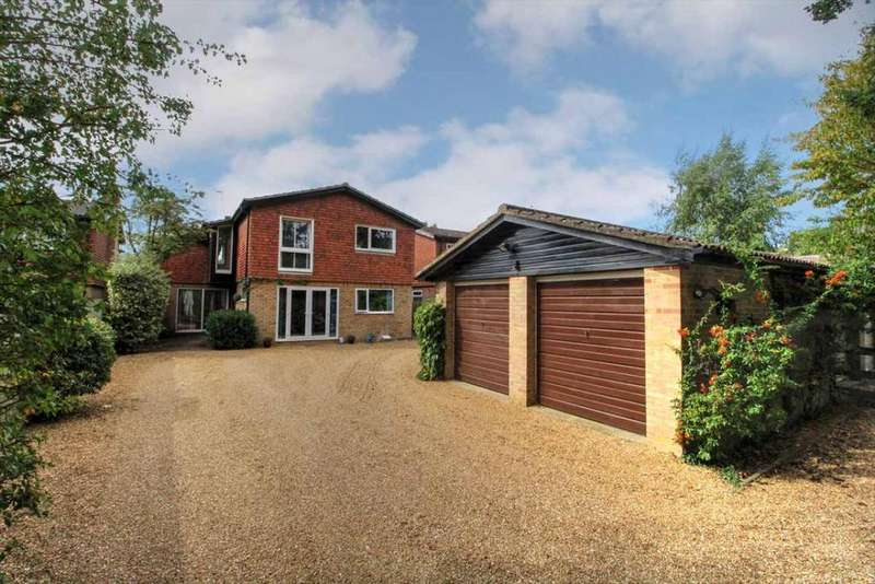 4 Bedrooms Detached House for sale in The Wickets, Church Lane, Oakley, MK43
