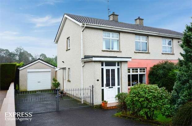 3 Bedrooms Semi Detached House for sale in Thornleigh Avenue, Randalstown, Antrim
