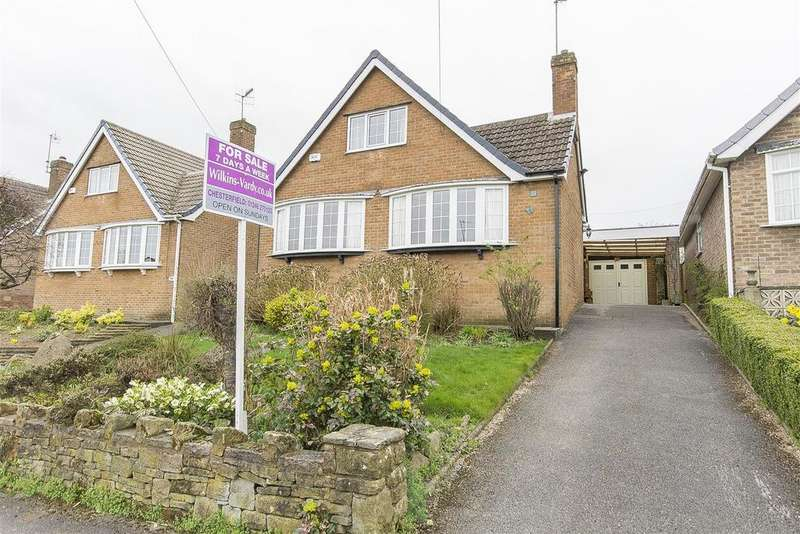 3 Bedrooms Detached Bungalow for sale in Thornbridge Crescent, Chesterfield