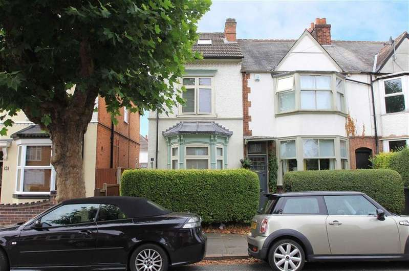 3 Bedrooms End Of Terrace House for sale in Somerville Road, Rowley Fields, Leicester