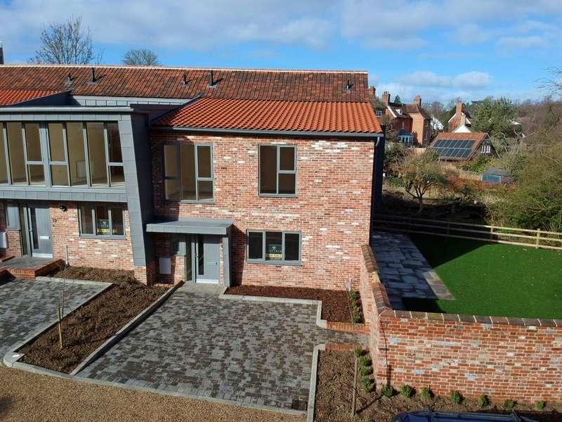 4 Bedrooms Town House for sale in Bullride Mews, New Street, Woodbridge IP12