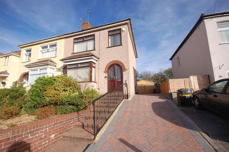 2 Bedrooms Semi Detached House for sale in Gillard Road, Bristol, BS15 8AR