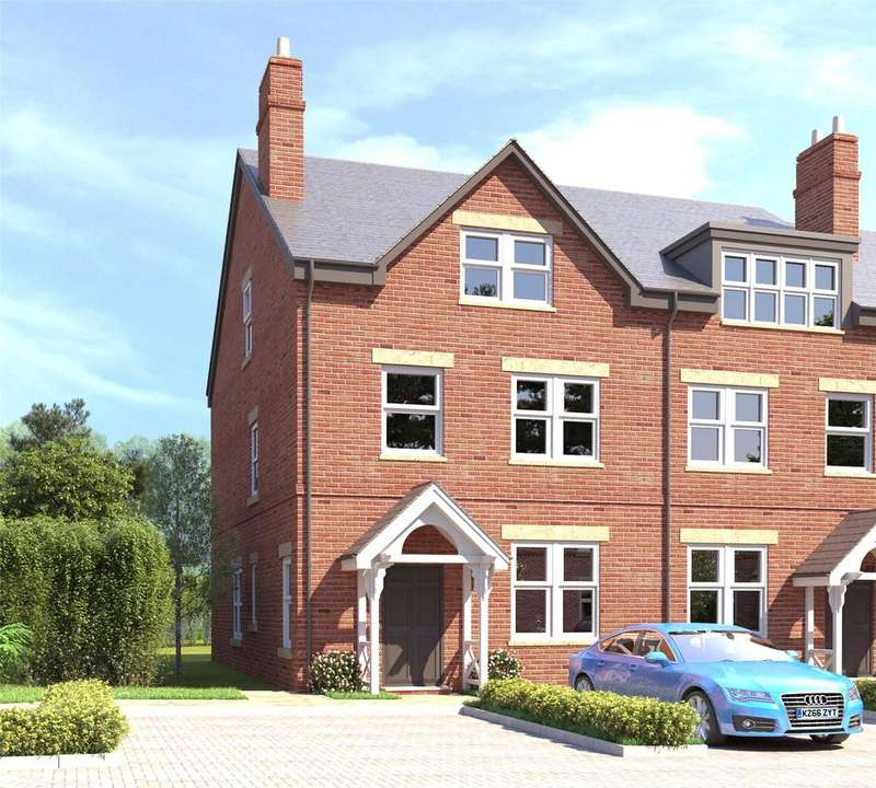 4 Bedrooms Mews House for sale in Cedar Mews, The Beeches, Malpas, Cheshire, SY14