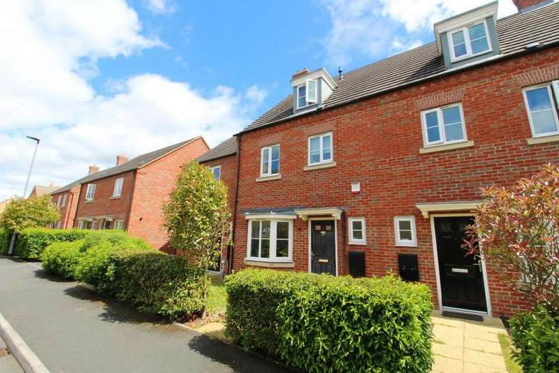 4 Bedrooms Town House for sale in Crispin Drive, Woodlands Park, Brickhill, Mk41