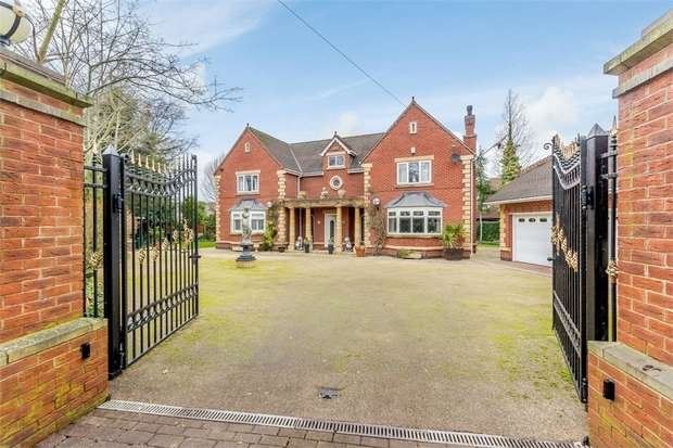 4 Bedrooms Detached House for sale in Quarry Lane, Chesterfield, Derbyshire