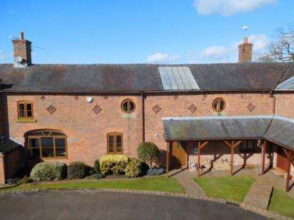 4 Bedrooms Barn Conversion Character Property for sale in Englesea Court, Barthomley Road, Barthomley, Cheshire