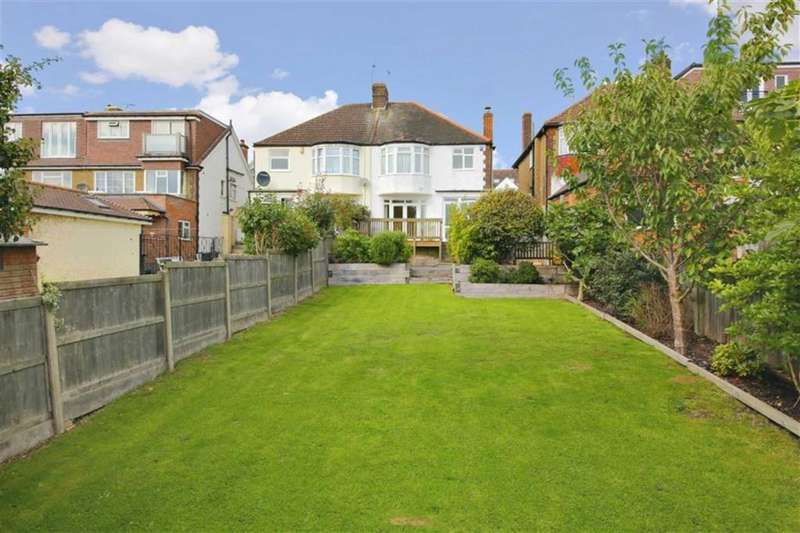 3 Bedrooms Semi Detached House for sale in Holly Hill, Winchmore Hill, London