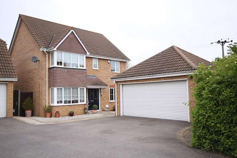 4 Bedrooms Detached House for sale in The Railway, Henlow, SG16