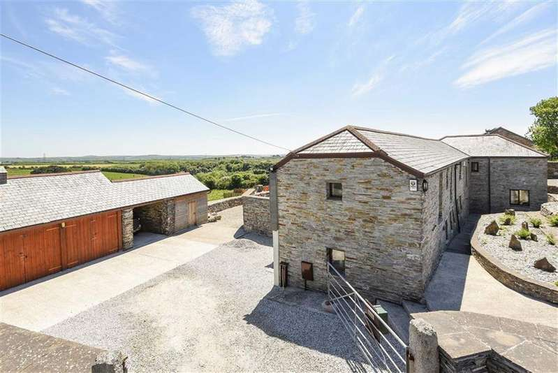 4 Bedrooms Detached House for sale in Rockhead Street, Delabole, Cornwall, PL33