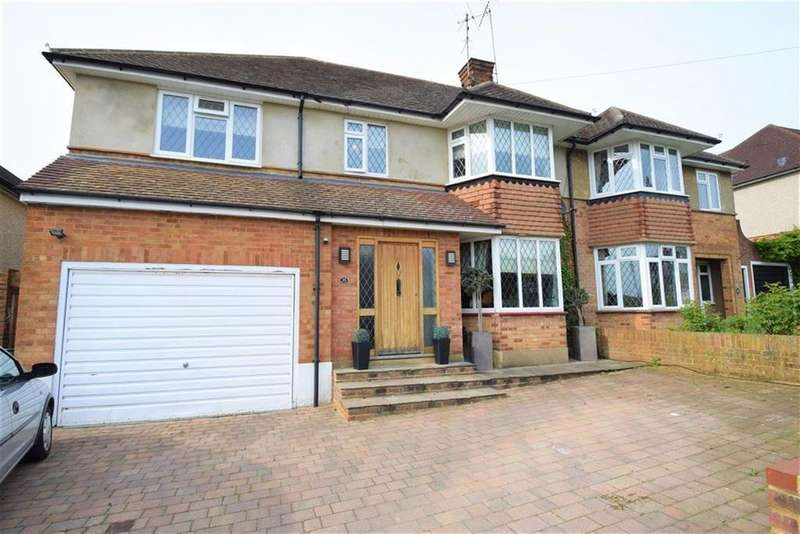 4 Bedrooms Semi Detached House for sale in Gallows Hill Lane, Abbots Langley, Herts