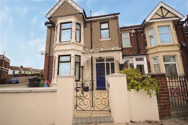 3 Bedrooms End Of Terrace House for sale in Tangier Road, Baffins, Portsmouth
