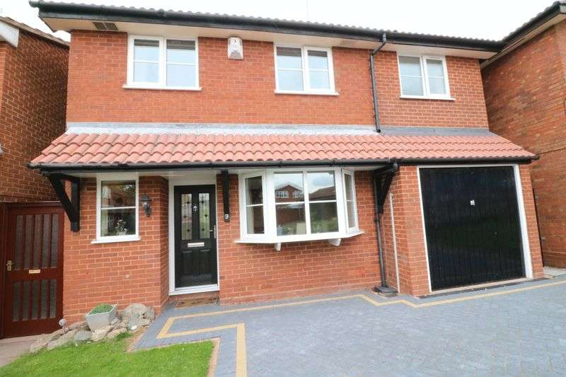 4 Bedrooms Property for sale in Orchard Close, Coven, Staffordshire. WV9 5AS