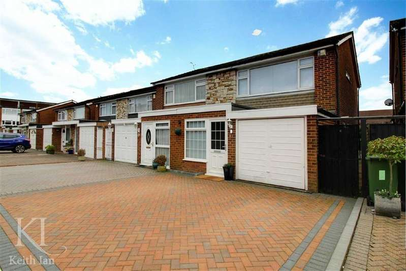 3 Bedrooms Semi Detached House for sale in Walnut Tree Close, Cheshunt