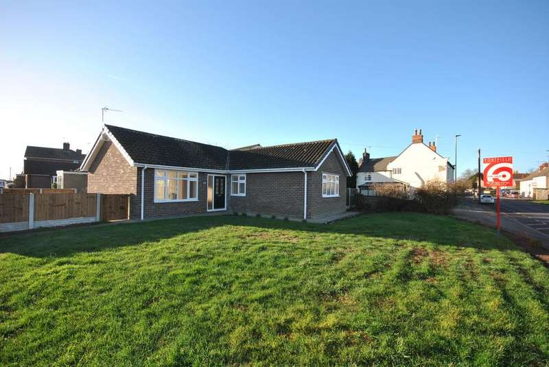 3 Bedrooms Detached Bungalow for sale in Sunderland Street, Tickhill