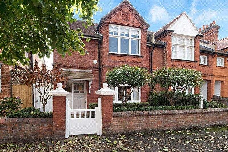 4 Bedrooms Semi Detached House for sale in Fielding Road, Chiswick, London, W4