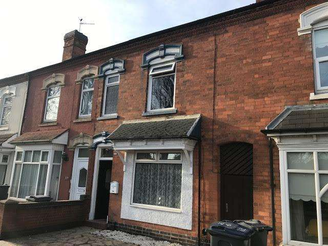 3 Bedrooms Terraced House for rent in Yardley Road, Yardley, Birmingham