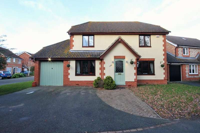 4 Bedrooms Detached House for sale in Keelers Way, Great Horkesley, Colchester, CO6