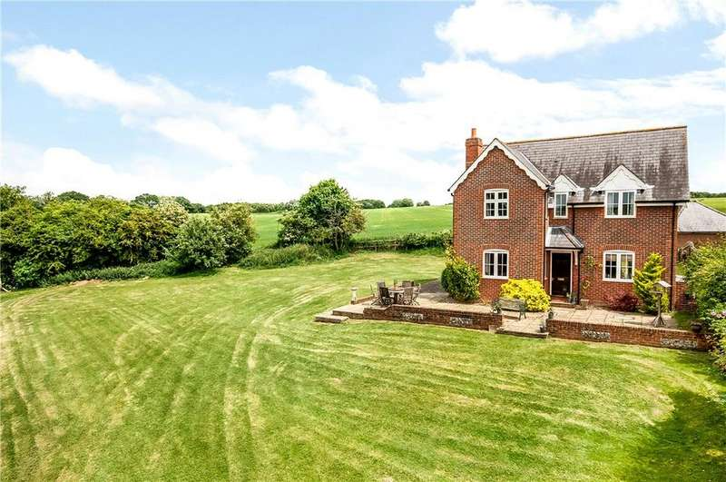 3 Bedrooms Detached House for sale in Southdowns, Old Alresford, Alresford, Hampshire, SO24