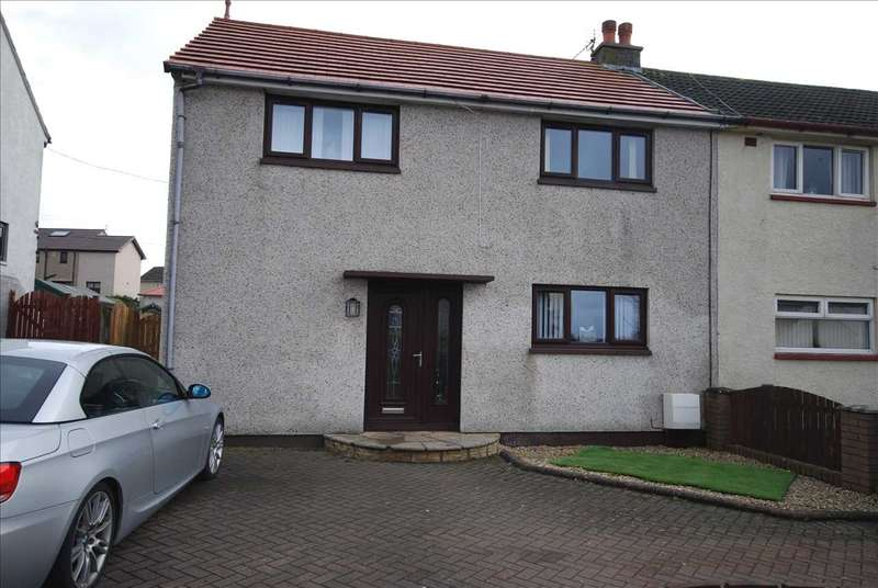 3 Bedrooms Semi Detached House for sale in Sanda Place, Saltcoats