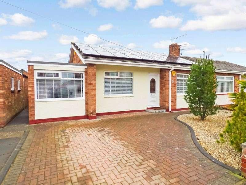 3 Bedrooms Bungalow for sale in Crossfell Gardens, Choppington, Choppington, Northumberland, NE62 5LA