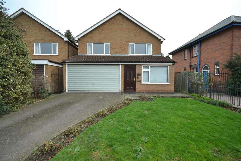 4 Bedrooms Detached House for sale in Park Hill Drive, Leicester
