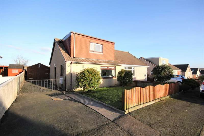 3 Bedrooms Semi Detached House for sale in Springhill Avenue, Crosshouse KA2