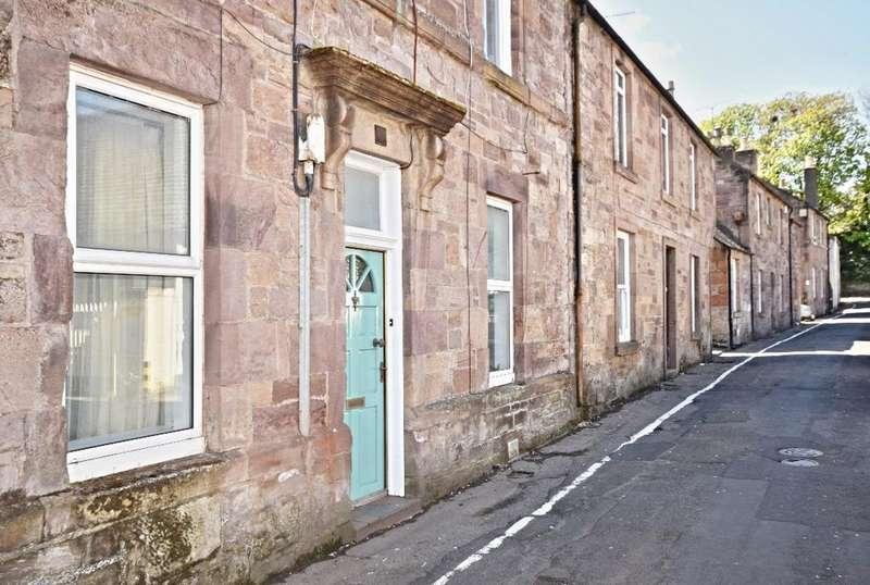 2 Bedrooms Ground Flat for sale in Castle Street, Maybole, South Ayrshire, KA19 7DD