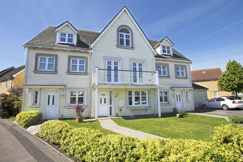 4 Bedrooms Town House for sale in Magister Drive, Lee-on-the-Solent, Hampshire