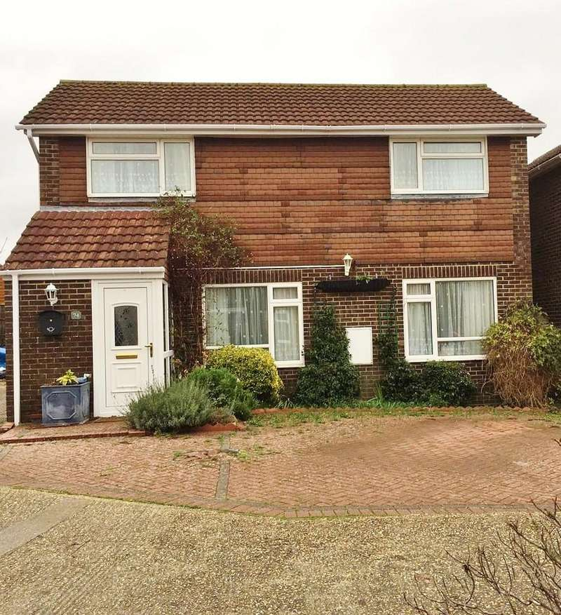 3 Bedrooms Detached House for sale in Garstons Close, Fareham