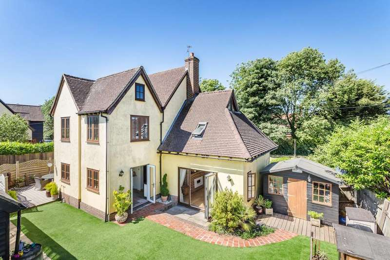 4 Bedrooms Detached House for sale in Church Lane, Dunmow