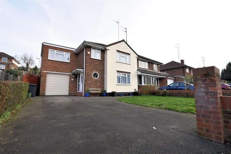 4 Bedrooms Semi Detached House for sale in Overdown Road, Tilehurst, Reading