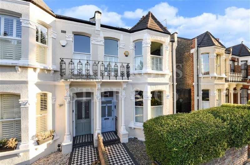 4 Bedrooms Terraced House for sale in Keslake Road, Queens Park, London, NW6