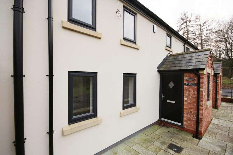 3 Bedrooms Terraced House for sale in Crown Inn Cottages, Fingerpost Lane, Norley, Cheshire, WA6