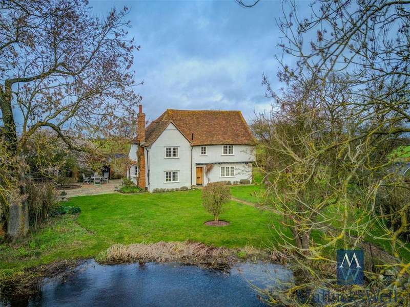 5 Bedrooms Detached House for sale in Church End, Lindsell, Dunmow, CM6