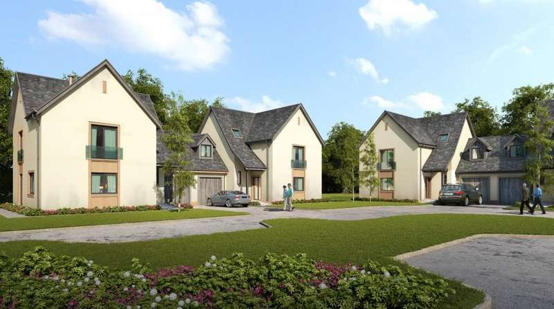 3 Bedrooms Link Detached House for sale in 4 The Courtyard Dalnair Estate, Croftamie, G63 0FE