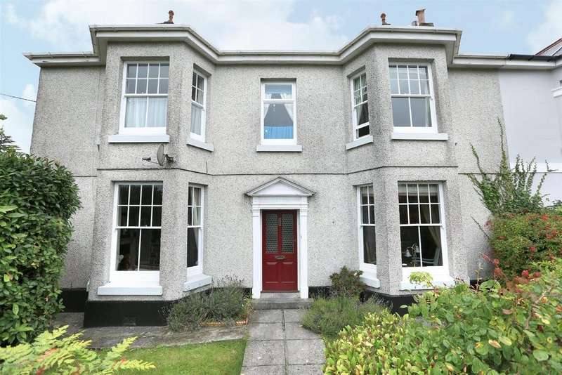 4 Bedrooms Semi Detached House for sale in Furzehatt Road, Plymstock, Plymouth