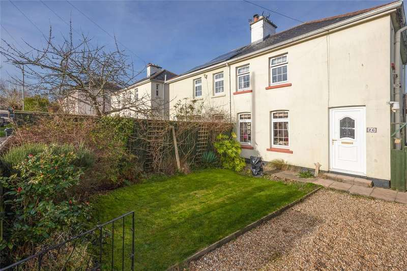 3 Bedrooms Semi Detached House for sale in Swallowfields, Totnes, TQ9