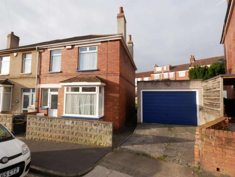3 Bedrooms Semi Detached House for sale in , Mascot Road, Bedminster