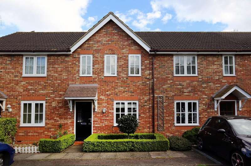 2 Bedrooms Terraced House for sale in Moorhen Drive, Lower Earley, Reading, RG6 4NZ