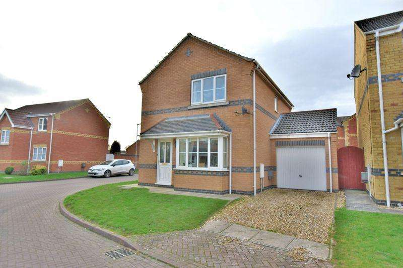 3 Bedrooms Detached House for sale in Milton Close, Cherry Willingham, Lincoln