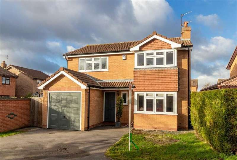 4 Bedrooms Detached House for sale in Freeman Way, Quorn, LE12