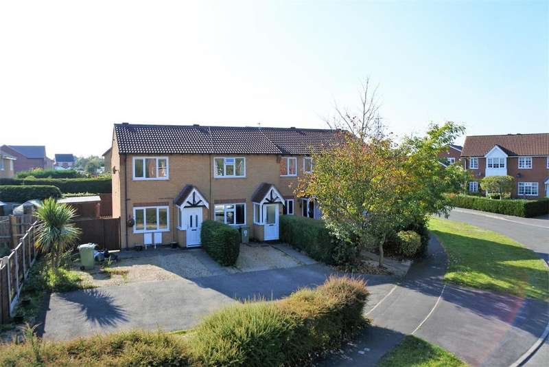 2 Bedrooms Terraced House for sale in Wentworth Drive, Grantham