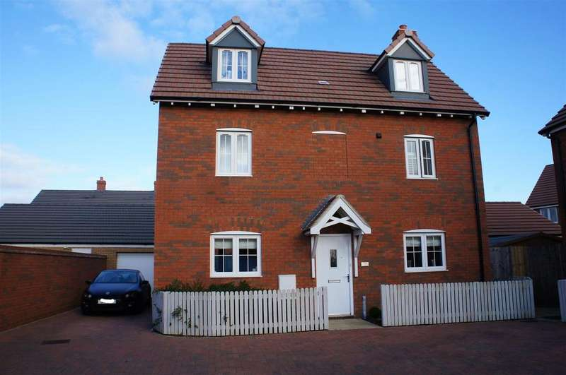 4 Bedrooms Detached House for sale in Arpins Pightle, Cranfield, Bedford