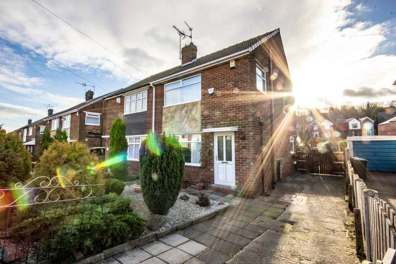 3 Bedrooms Semi Detached House for sale in Maple Croft Crescent, Sheffield, S9 1DN